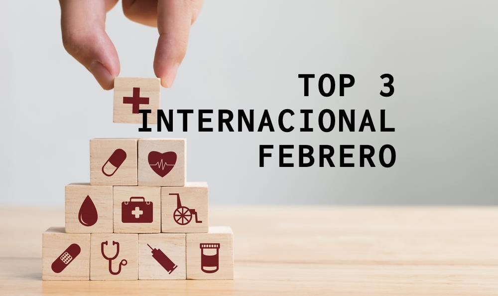 Top 3 Internacional – Febrero
