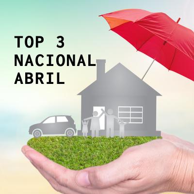Top 3 Nacional – Abril