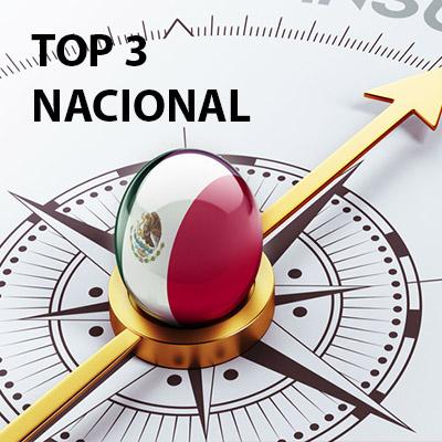 TOP 3 NACIONAL – diciembre