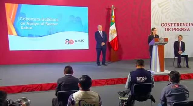 AMIS BRINDA PROTECCIÓN FINANCIERA AL PERSONAL DE SALUD PÚBLICA