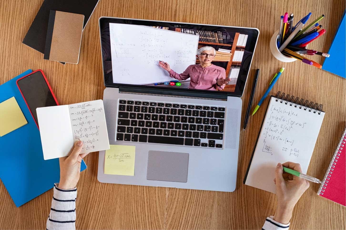 Educación en línea: entre el avance y el rezago