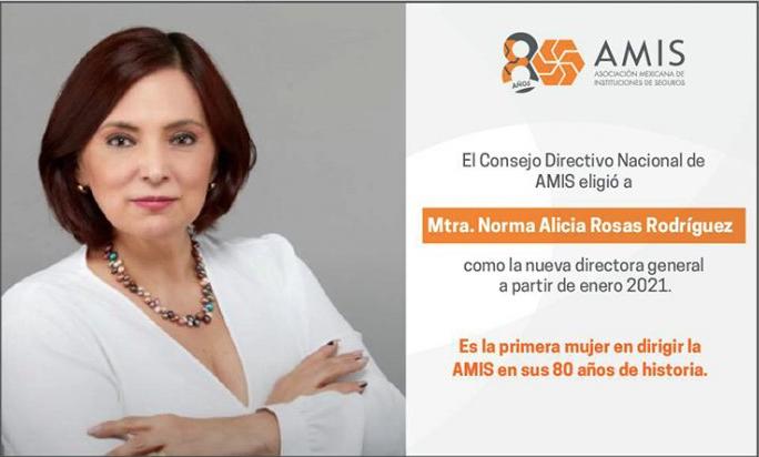 Norma Alicia Rosas asume la dirección general de la AMIS