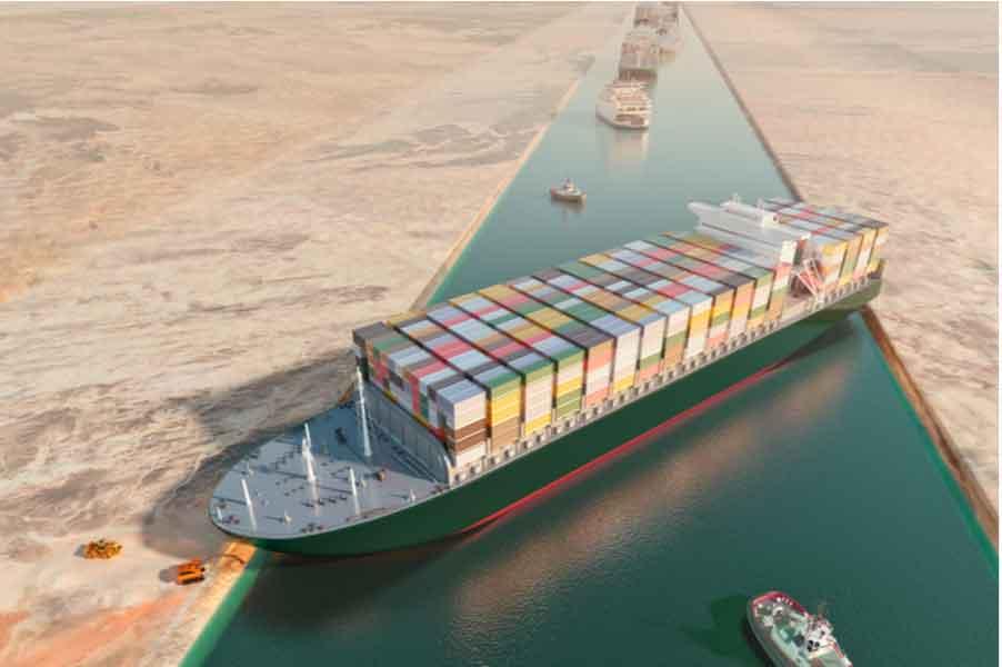 Consecuencias de la crisis del Canal de Suez para los seguros